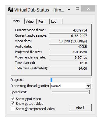 FAQ по записи видео и инструкция по работе с FRAPS и Virtualdub (скачать) .